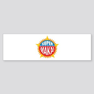 Super Makai Bumper Sticker