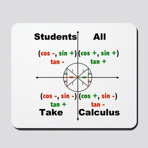 All Students Take Calculus Mousepad