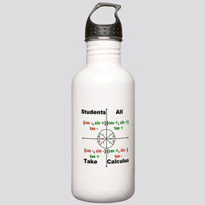 All Students Take Calculus Water Bottle