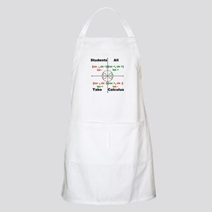 All Students Take Calculus Apron