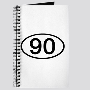 Number 90 Oval Journal