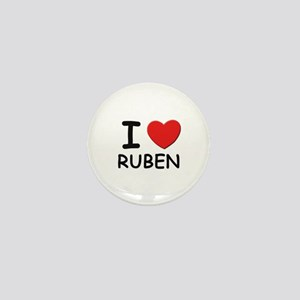 I love Ruben Mini Button