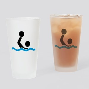 waterpolo Drinking Glass