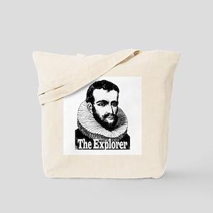 Henry Hudson the Explorer Tote Bag