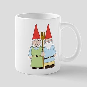Gnome Couple Mug