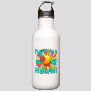 Tropical I'd Rather be in Hawaii Stainless Water B