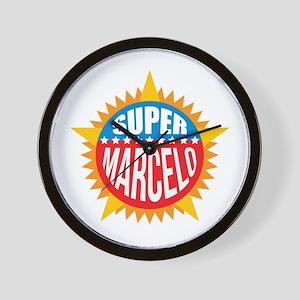 Super Marcelo Wall Clock