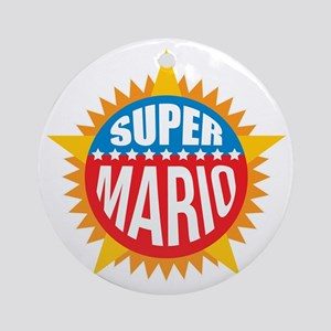 Super Mario Ornament (Round)