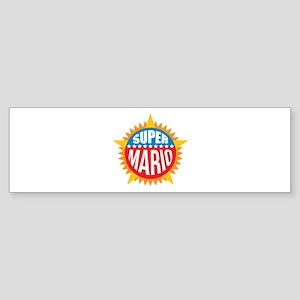 Super Mario Bumper Sticker