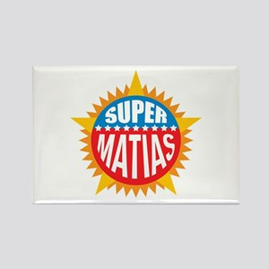 Super Matias Rectangle Magnet