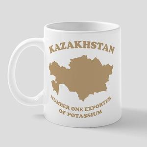 Kazakhstan number one exporter of potassium! Mug