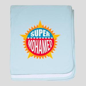 Super Mohamed baby blanket