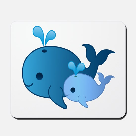 Baby Whale Mousepad