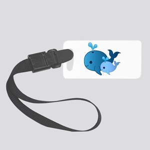 Baby Whale Luggage Tag