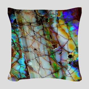 Opalesque Woven Throw Pillow