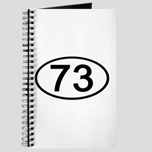 Number 73 Oval Journal