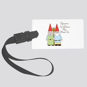 Where The Heart Is Luggage Tag