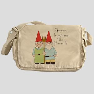 Where The Heart Is Messenger Bag