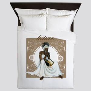 Believe Queen Duvet