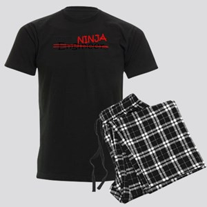 Job Ninja Engineer Men's Dark Pajamas