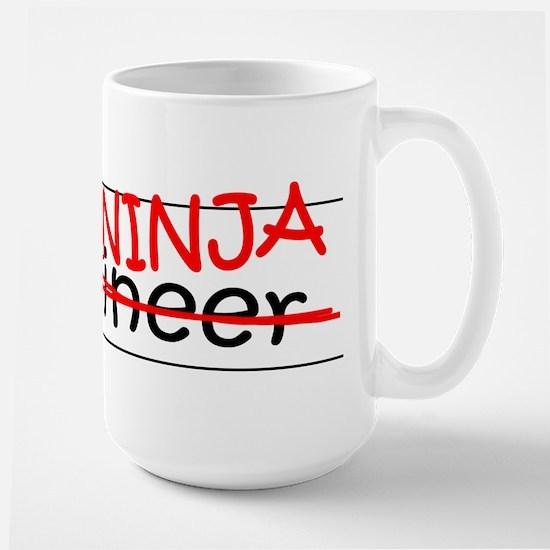 Job Ninja Engineer Large Mug