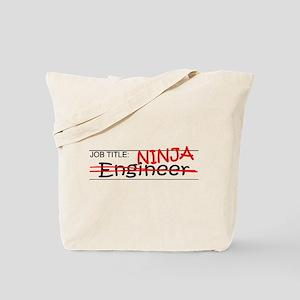 Job Ninja Engineer Tote Bag