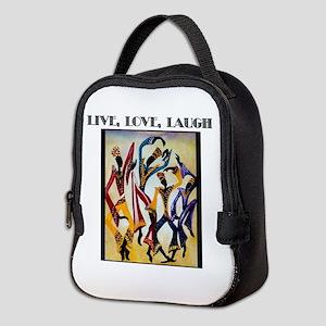 Live, Love, Laugh  Neoprene Lunch Bag