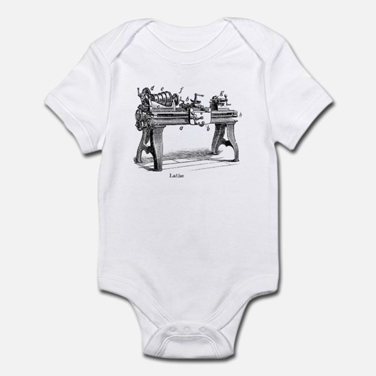 Woodturning Infant Bodysuit