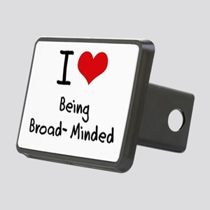 I Love Being Broad-Minded Hitch Cover