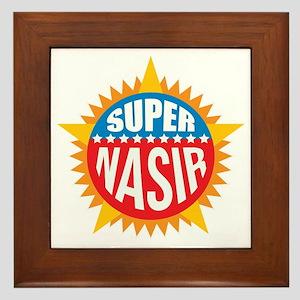 Super Nasir Framed Tile