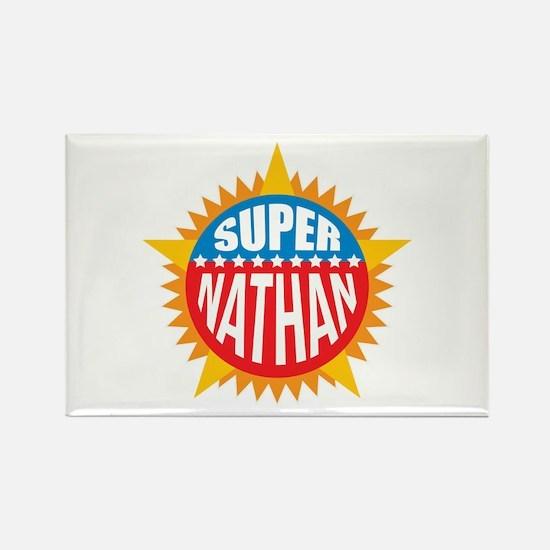 Super Nathan Rectangle Magnet