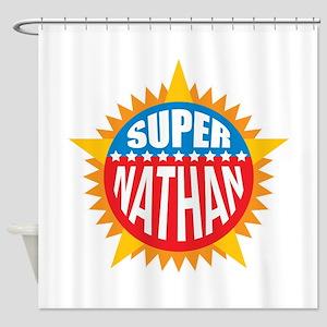 Super Nathan Shower Curtain
