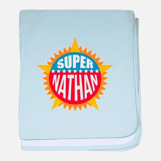 Super Nathan baby blanket