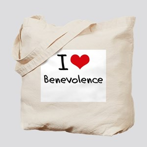 I Love Benevolence Tote Bag