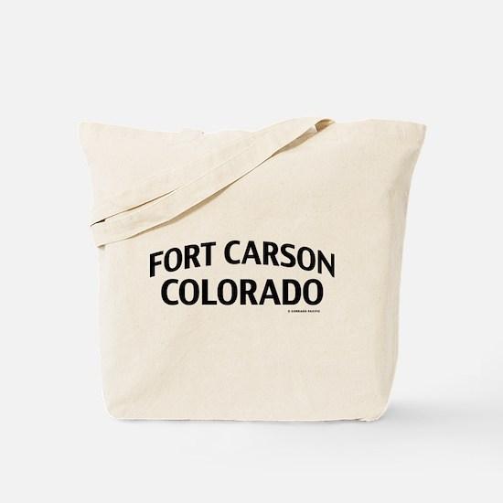 Fort Carson Colorado Tote Bag
