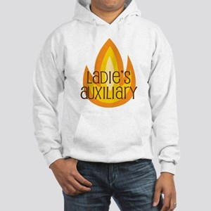 Ladies' Auxiliary Fire Hooded Sweatshirt