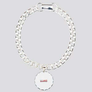 Job Ninja Electrician Charm Bracelet, One Charm