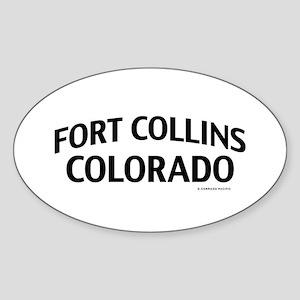 Fort Collins Colorado Sticker