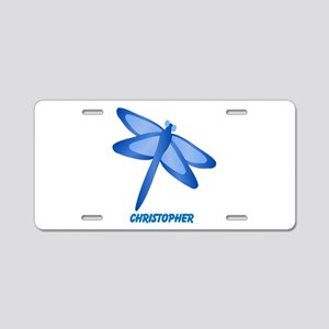 Personalized Dragonfly Aluminum License Plate