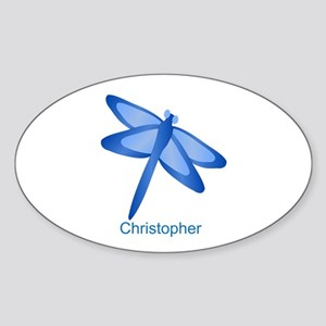 Personalized Dragonfly Sticker
