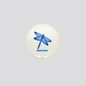 Personalized Dragonfly Mini Button