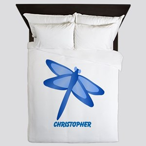 Personalized Dragonfly Queen Duvet