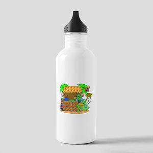 tiki bar happy hour Water Bottle
