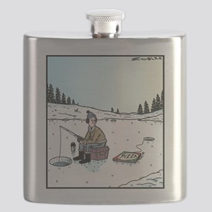 Ice-fishing Pizza bait Flask