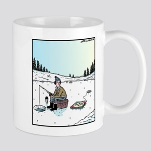 Ice-fishing Pizza bait Mug