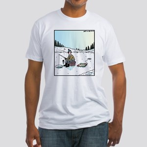 Ice-fishing Pizza bait T-Shirt