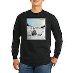 Ice-fishing Pizza bait Long Sleeve T-Shirt
