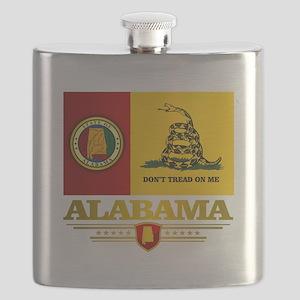 Alabama Gadsden Flag Flask