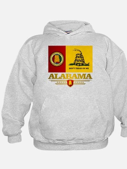 Alabama Gadsden Flag Hoodie