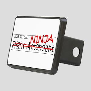 Job Ninja Flight Attendant Rectangular Hitch Cover